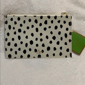 Kate Spade Flamingo Dot Pencil pouch